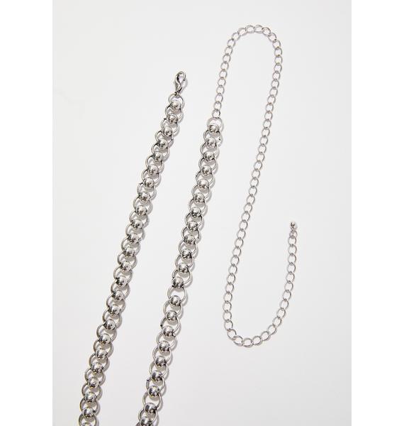 Stay Away Chain Belt