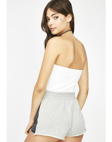 Curious Heart Two Tone Shorts