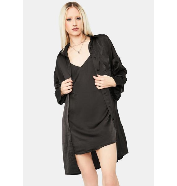 The Night Before Shirt Dress