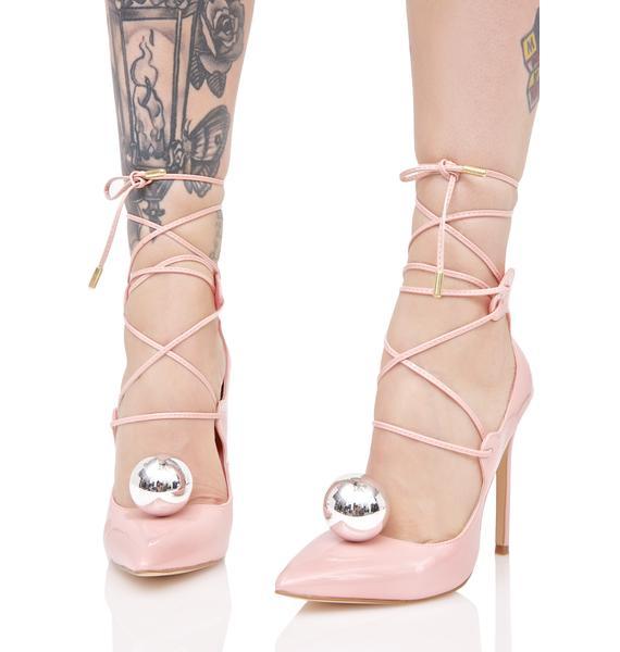 Privileged Vida Lace-Up Heels