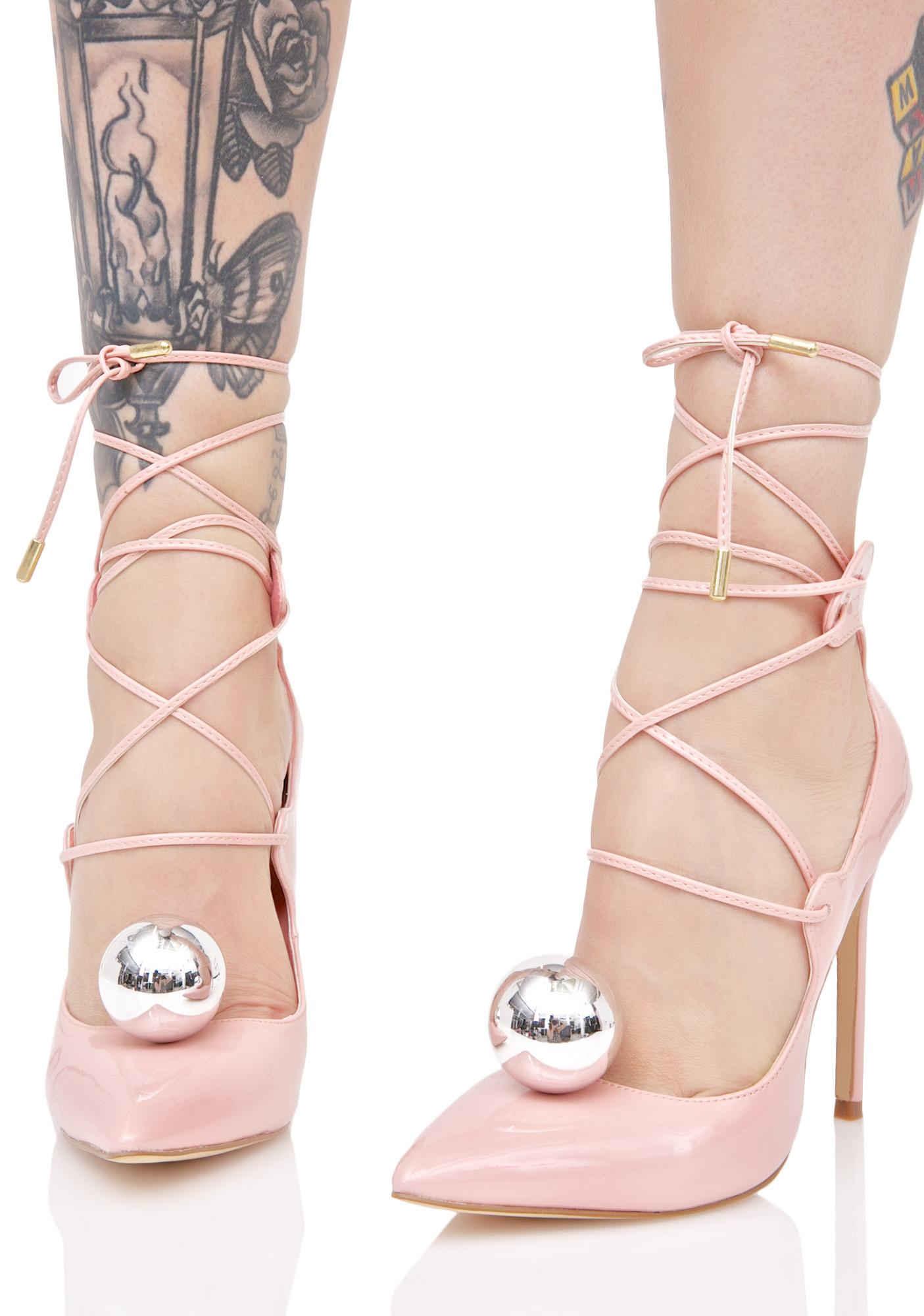Privileged Vida Lace-Up Heels