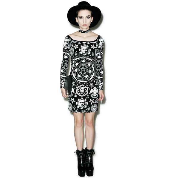 Killstar X Dolls Kill Bound Bodycon Dress
