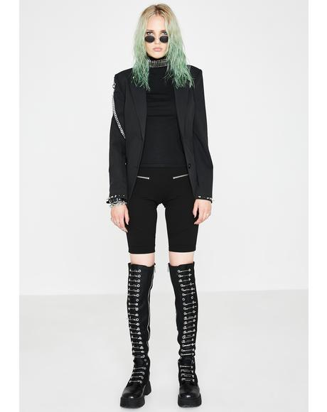 Lethal Lover Thigh High Boots