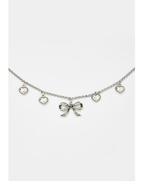 Cutie Behavior Charm Necklace
