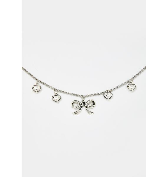 Cutie Behavior Charm Necklace