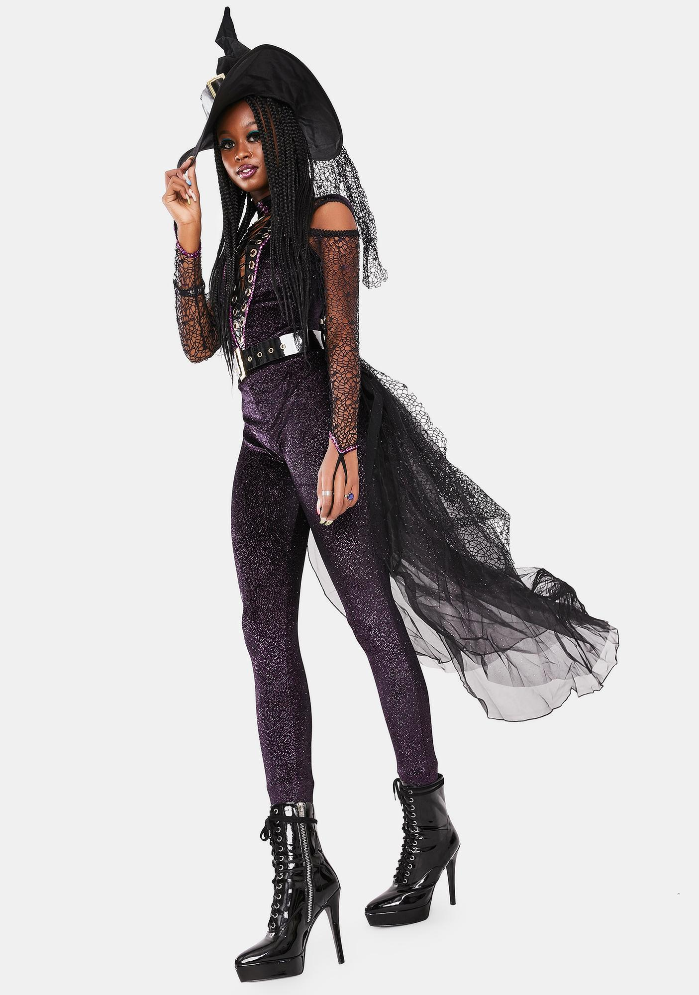 Violet Coven Witch Costume