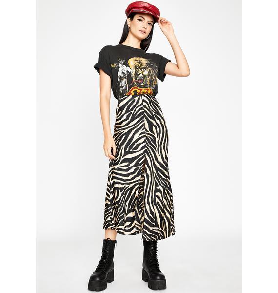 Primal Calling Midi Skirt