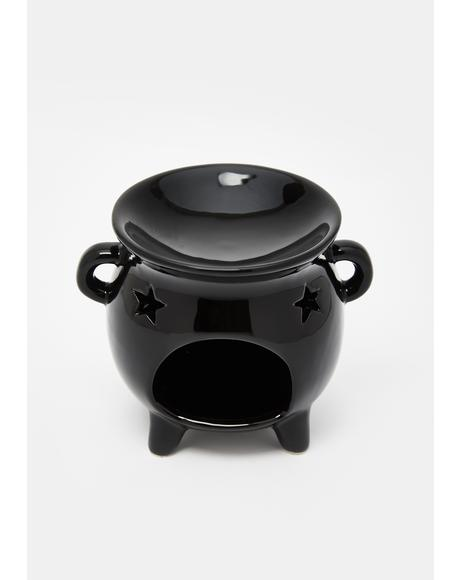 Bubble The Trouble Cauldron Oil Burner