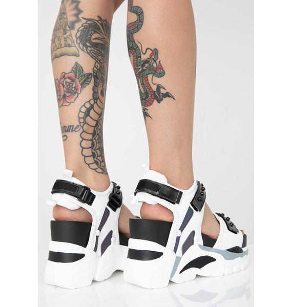 Anthony Wang Ready For Takeoff Platform Sandals
