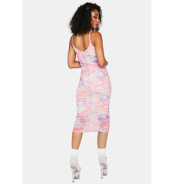 Lucid Dreamer Midi Dress