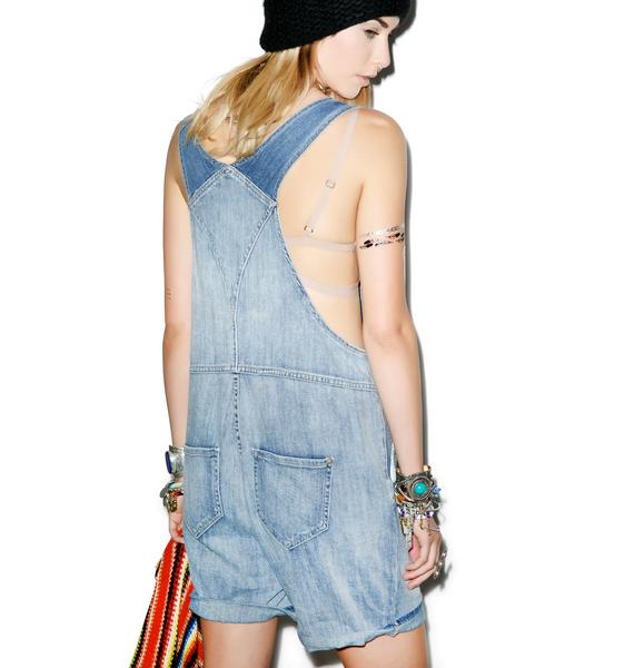 Wildfox Couture Summer Camp Dungarees