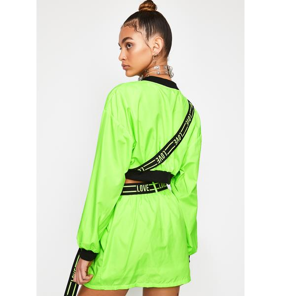 Nuclear Rave Zone Skirt Set