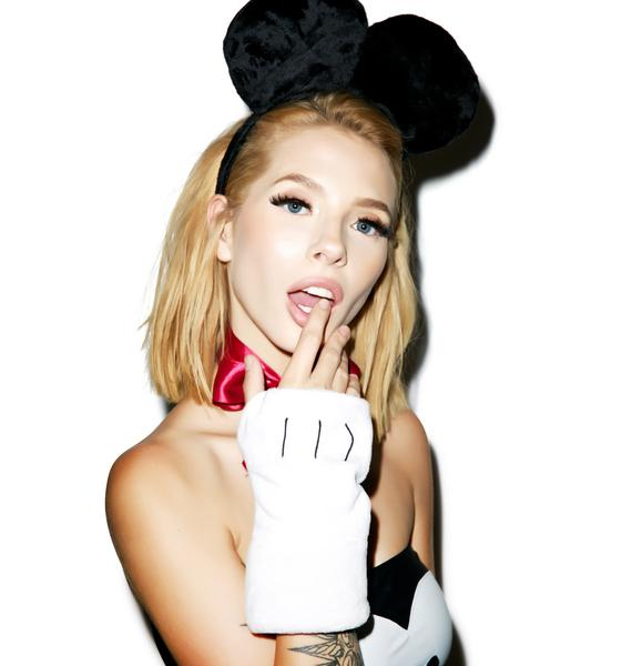 J Valentine Happy Mouse Gloves