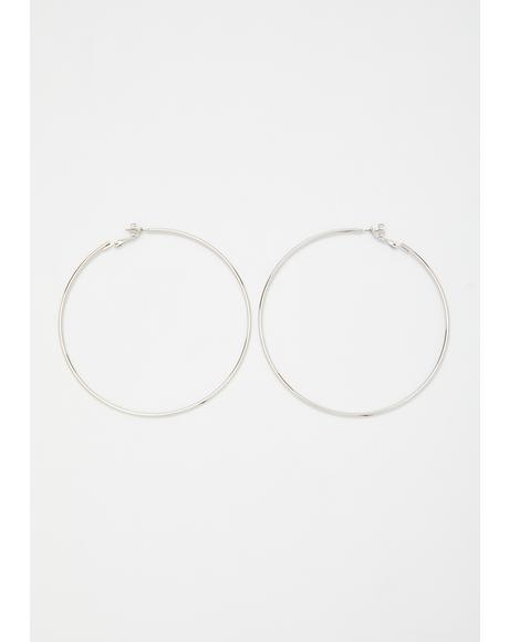 Gotcha Good Hoop Earrings