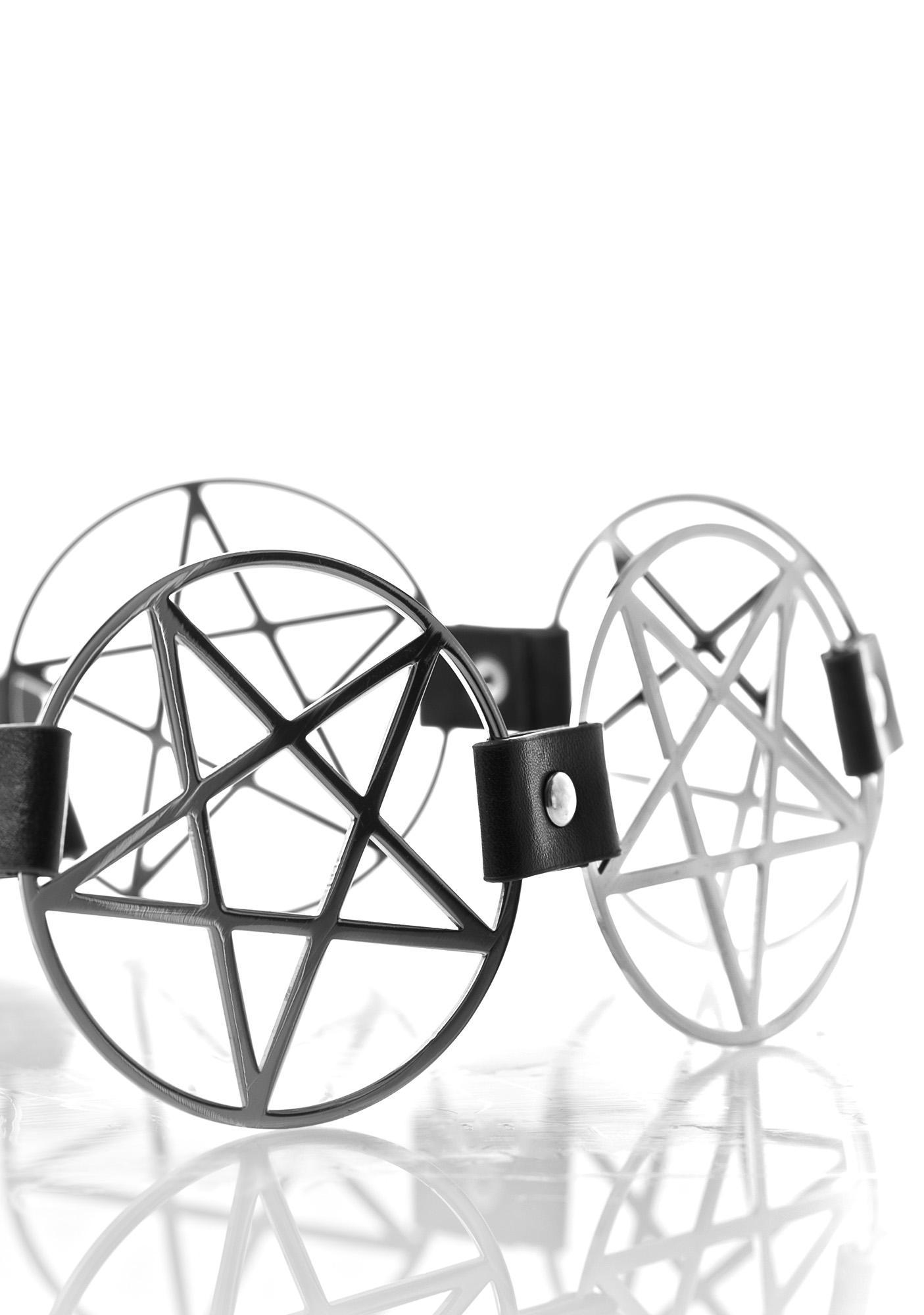Killstar Pentagram Belt