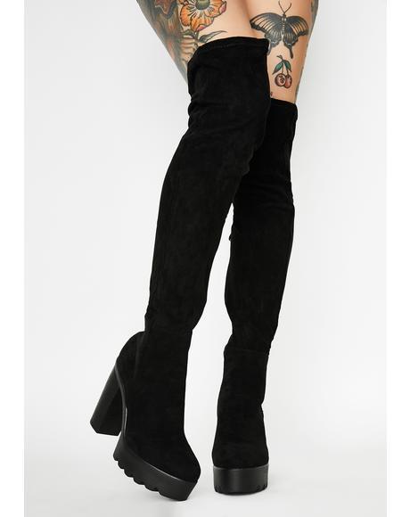 Diva Destiny Thigh High Boots
