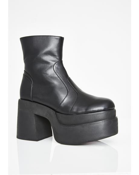Klub Kidd Platform Boots