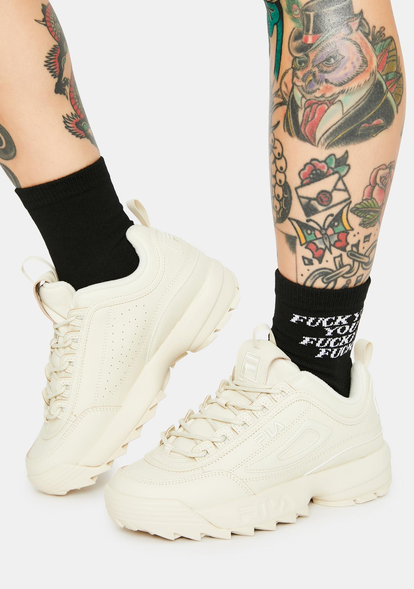 Fila Tan Disruptor II Premium Sneakers