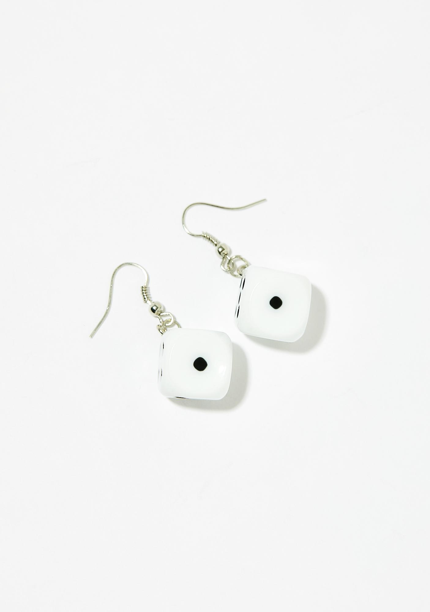 Take A Gamble Dice Earrings