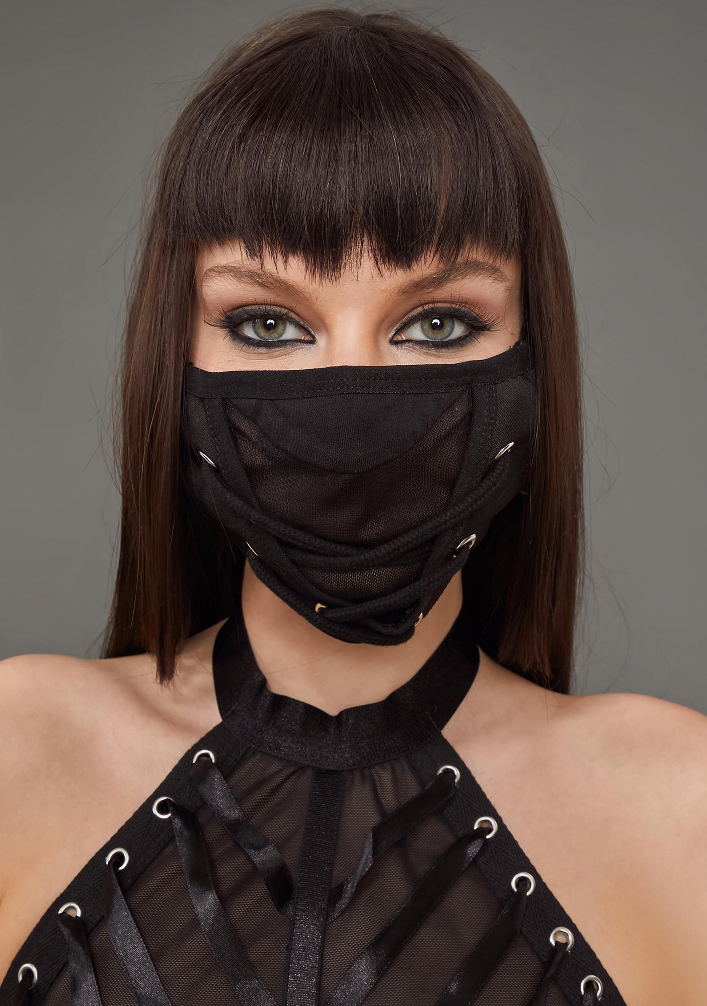 Poster Grl Go Your Own Way Face Mask