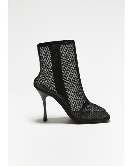 All Eyes On U Fishnet Booties