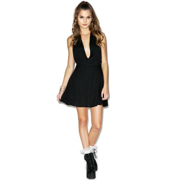 Motel Femme Halter Dress