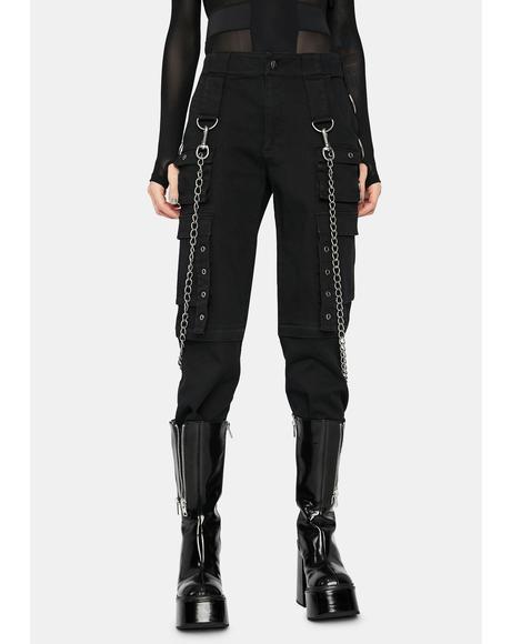 Heavy Metal Rave Pants
