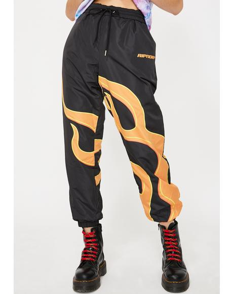 Flaming Hot Track Pants