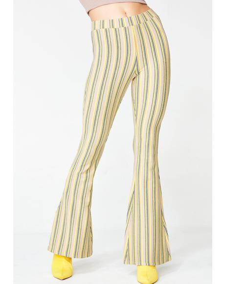 Mellow Do U BooBoo Stripe Pants