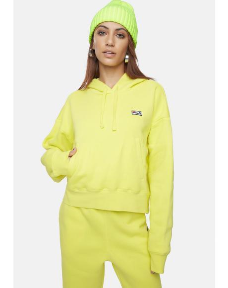 Yellow Marina Hoodie