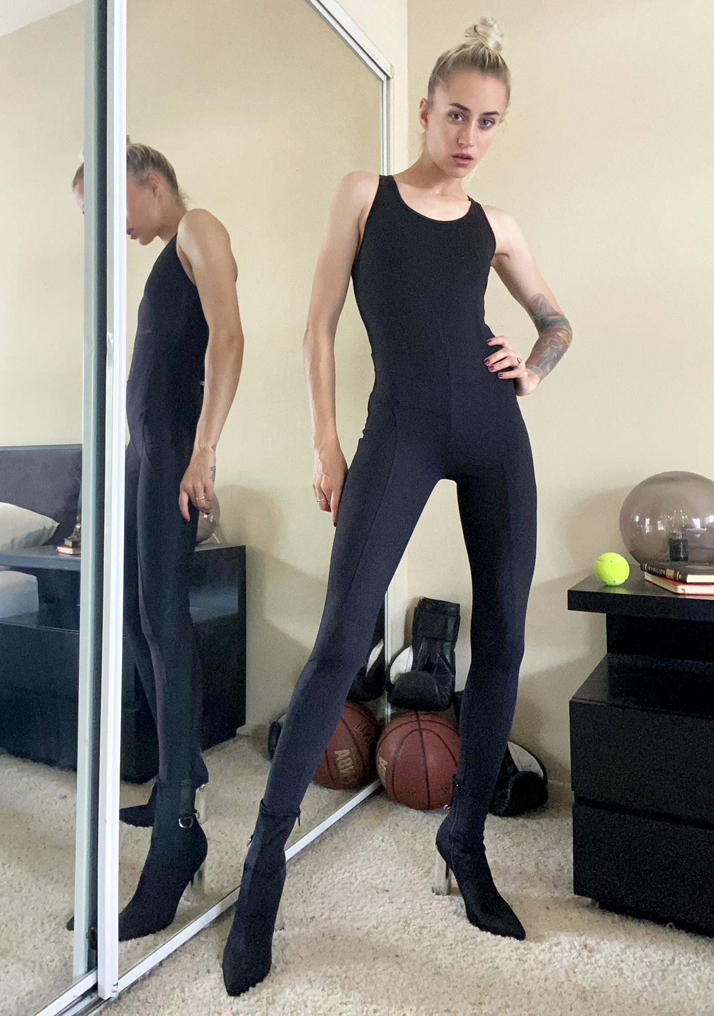 Jump To It Sporty Jumpsuit