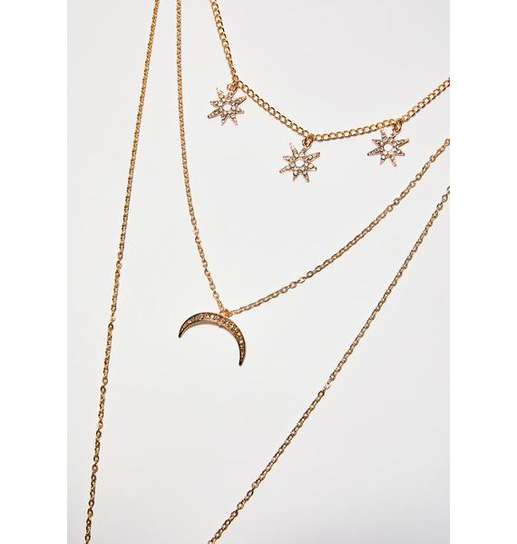 Night Skies Body Chain