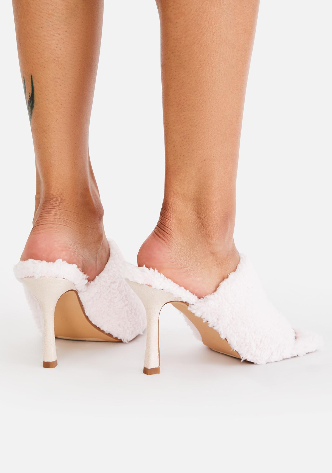 Pretty Princess And The Peep Toe Heels