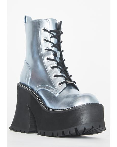 Cosmic Behavior Platform Boots