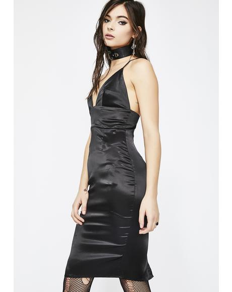 Buy Me A Drink Satin Dress