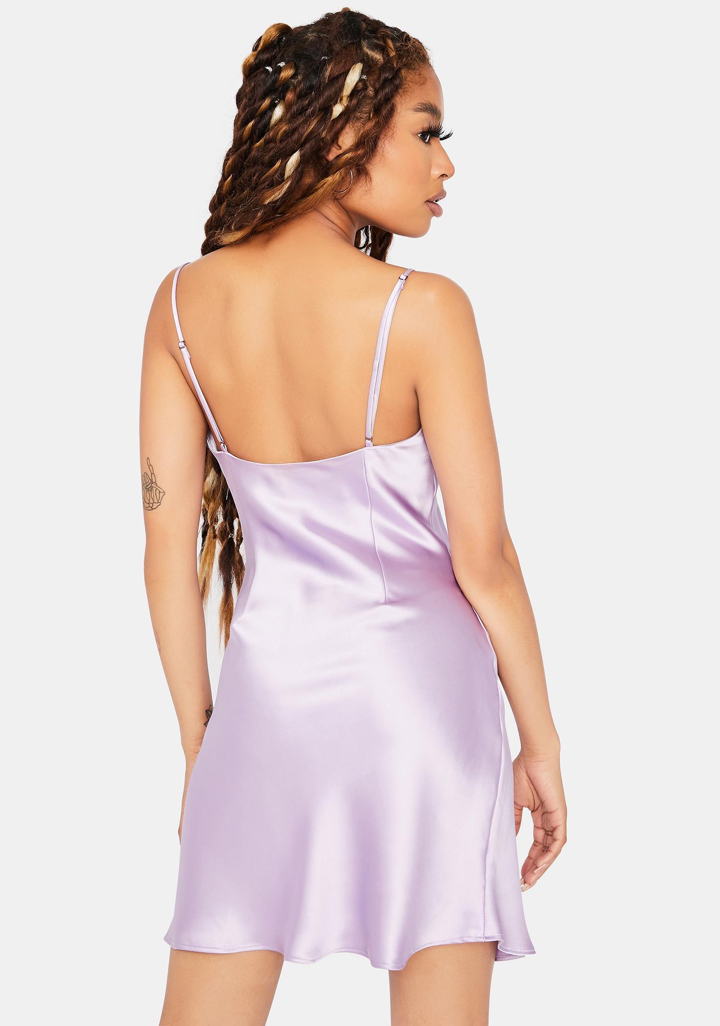 Iris Champagne All Day Satin Dress