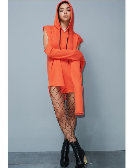 Street Smarts Sweatshirt Dress