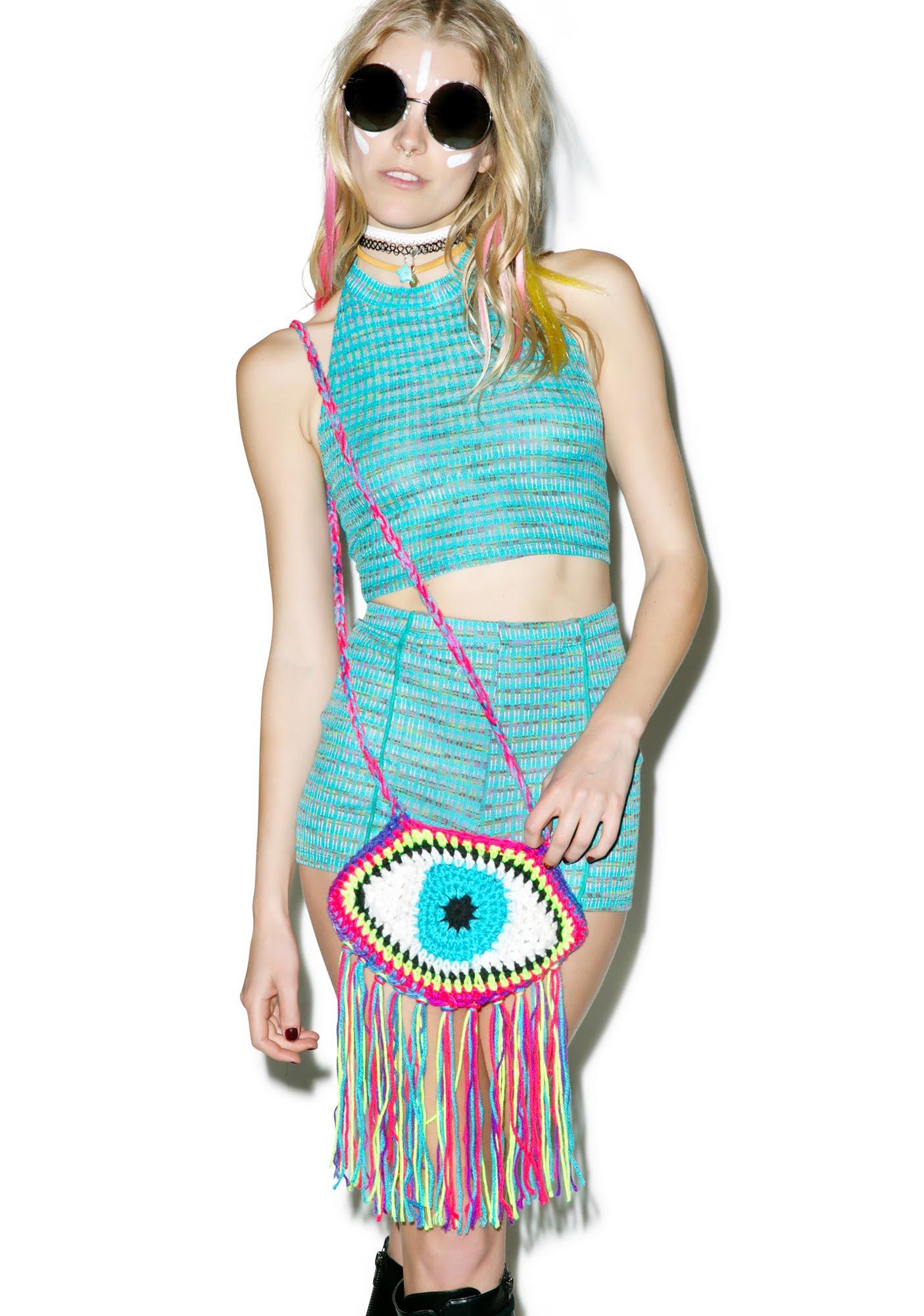 Third Eye Fringe Bag