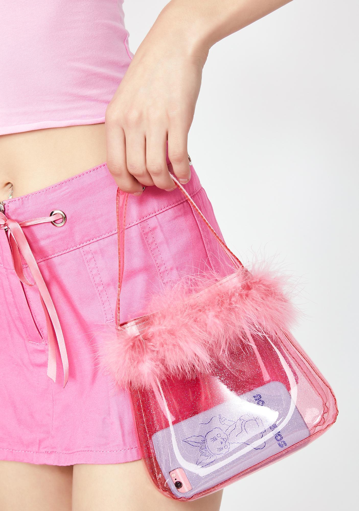 Sugar Thrillz Loves It Clear Handbag