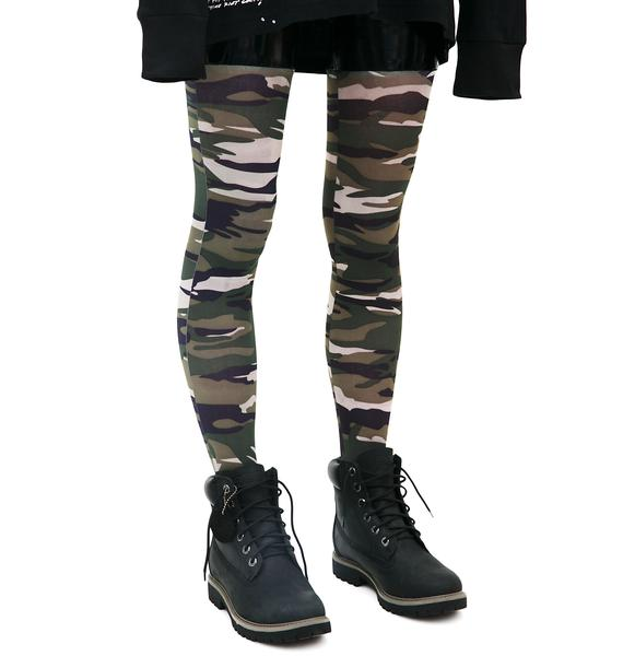 Straight Shooter Camo Stockings