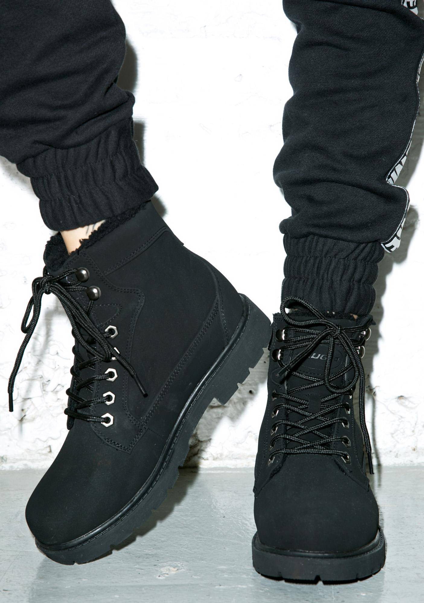 Lugz Regiment Fleece Lined Boots