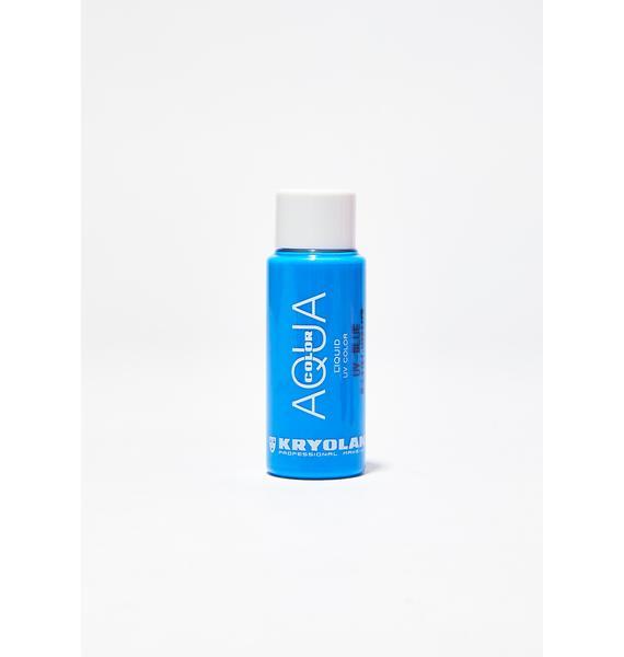 Kryolan Blue Aquacolor Liquid UV Color
