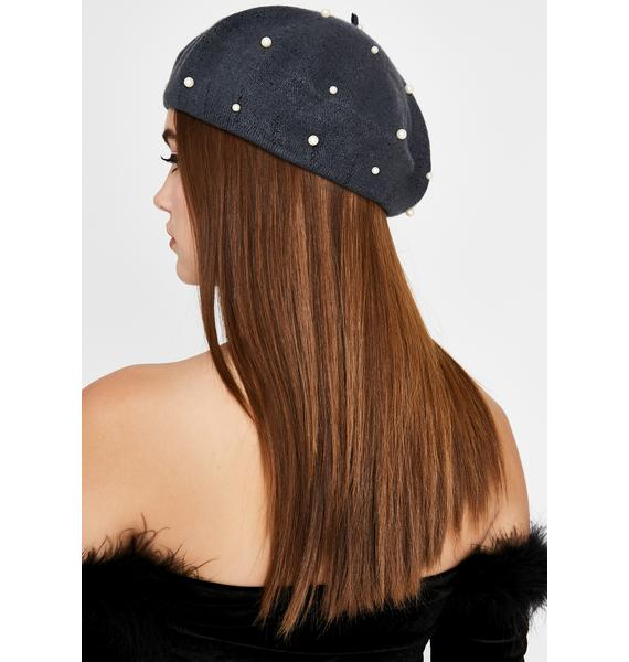 Heiress Intuition Pearl Beret