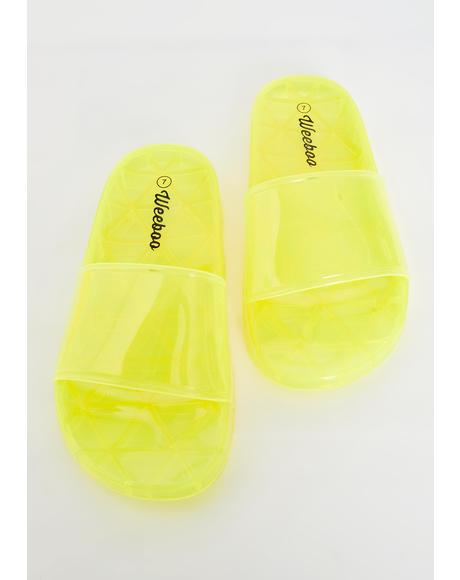 Neon Gumdrop Jelly Slides