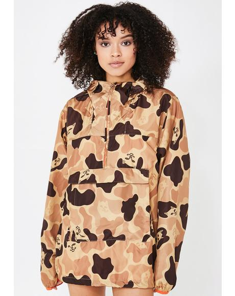 Nerm Camo Packable Anorak Jacket