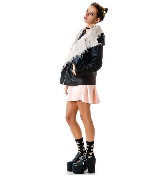 Stylestalker Cosmic Fur Parka