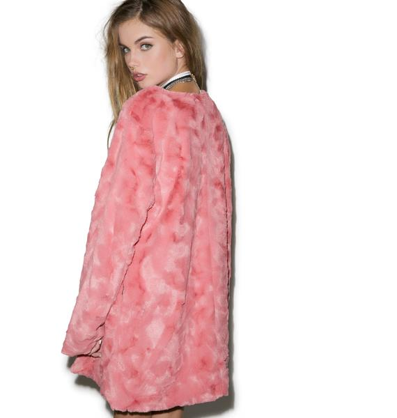 Mink Pink Powder Room Coat