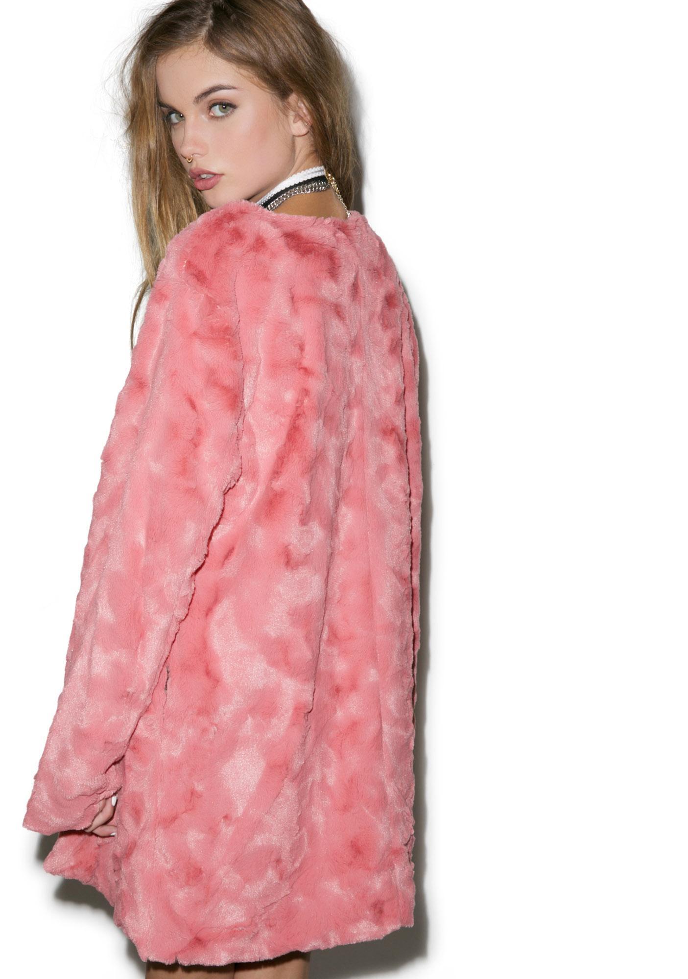Mink Pink Powder Room Coat