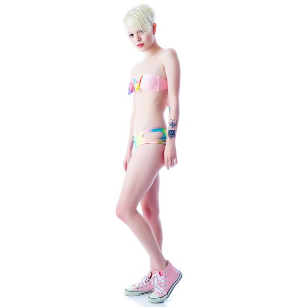 Lolli Swim Heart of Glass Cut Out Bottom
