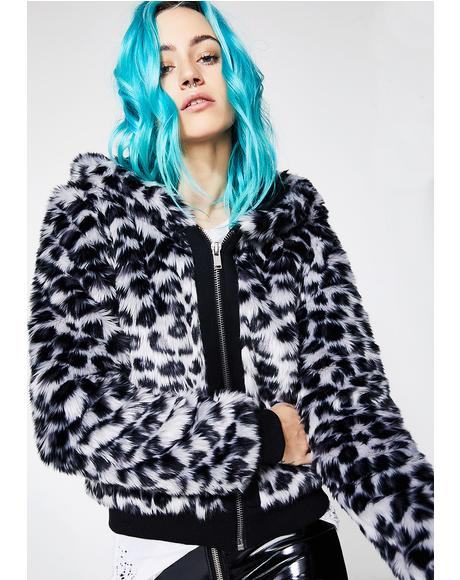 Like A Leopard Hooded Jacket